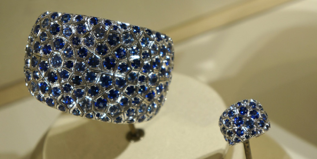Rivage Sapphire and Diamond Bracelet and Ring
