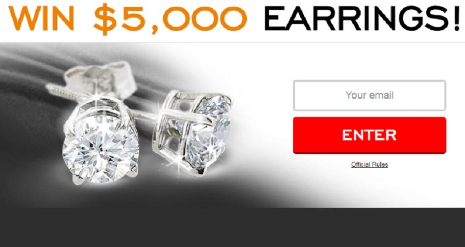 WIN $5,000 EARRINGS!