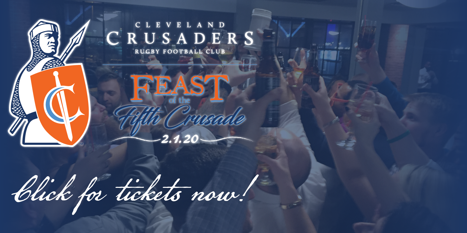 Feast of the Fifth Crusade and Awards Celebration!  Saturday, February 1, 2020