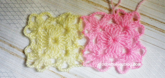 Small Crochet Motif - free pattern