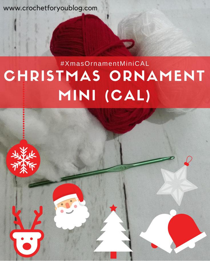 Christmas Ornament Mini CAL 2017 - Intro Post