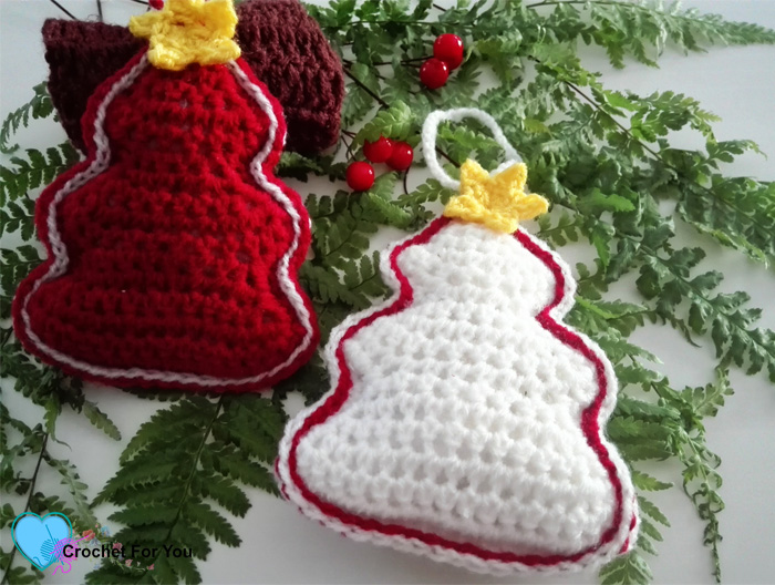 Christmas Ornament Mini CAL - Crochet Christmas trees