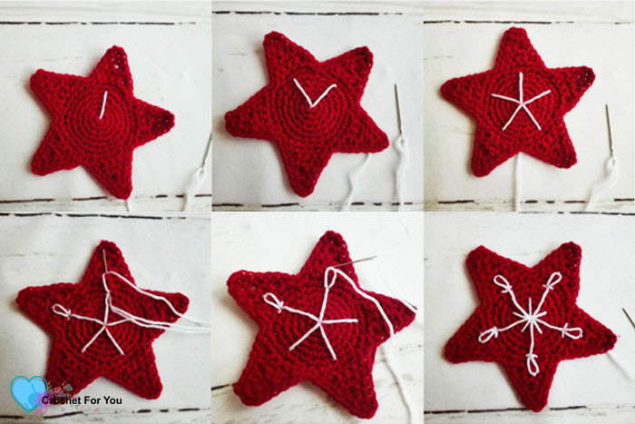 Christmas Ornament Mini CAL - Crochet Christmas Star