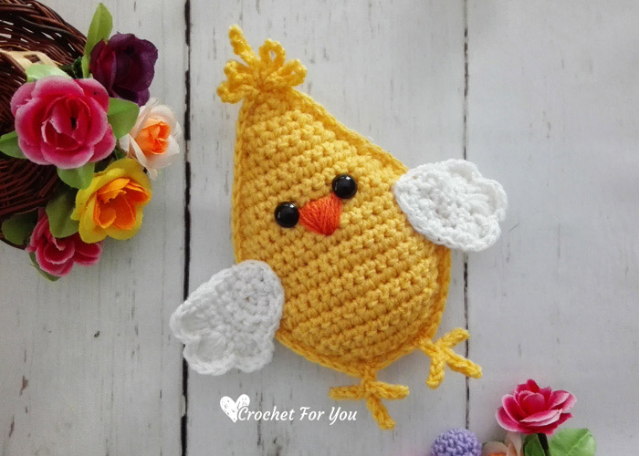 Little Spring Chick Amigurumi - free crochet pattern