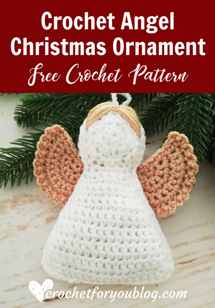 Crochet Angel Christmas Ornament Free Pattern