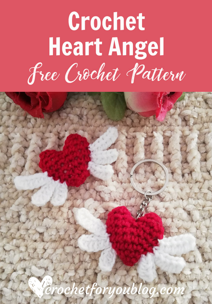 Crochet Heart Angel Free Pattern