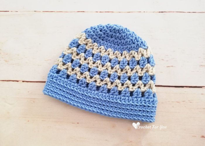 Spring & Summer Lace Beanie Free Crochet Pattern