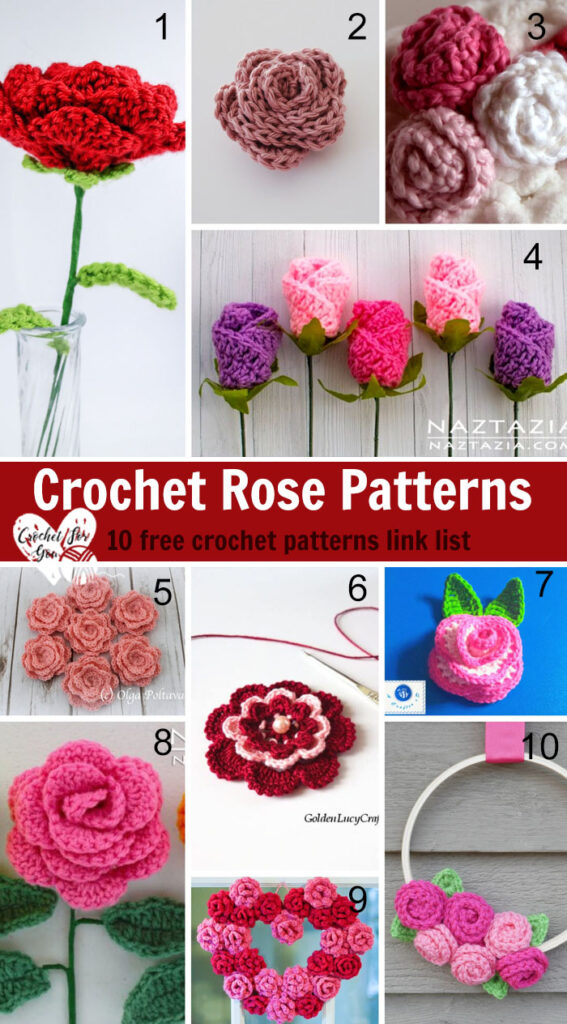 Crochet Rose Patterns
