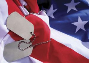 Obituary flag