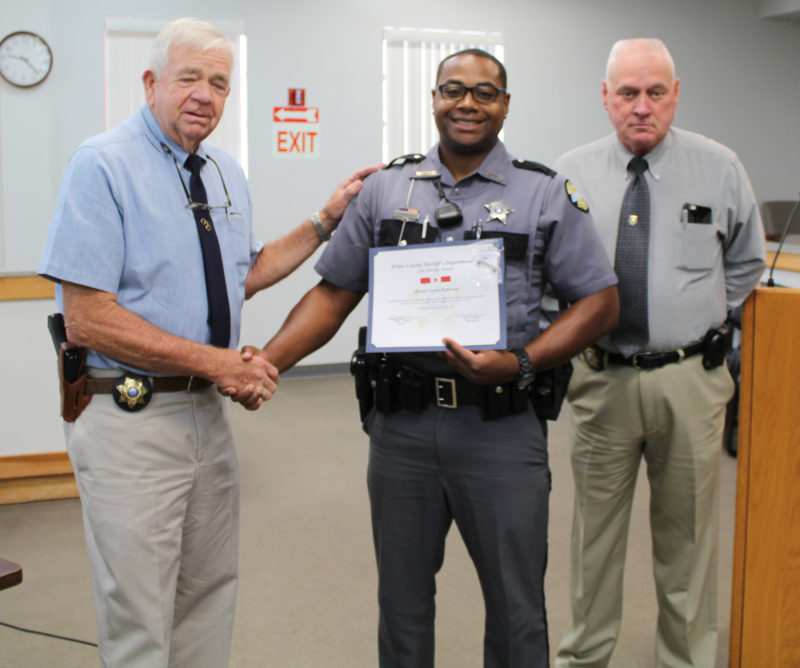 White County Sheriff Department recognizes officers