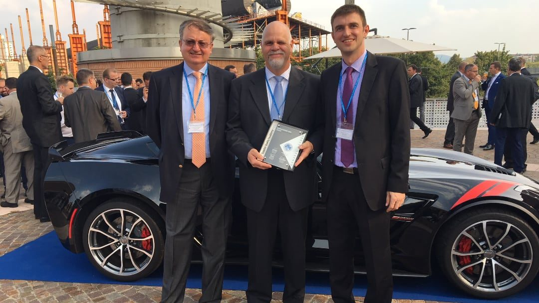 GM Europe ehrt unseren Standort in Treuen, Deutschland,  mit dem GM Supplier Quality Excellence Award 2017