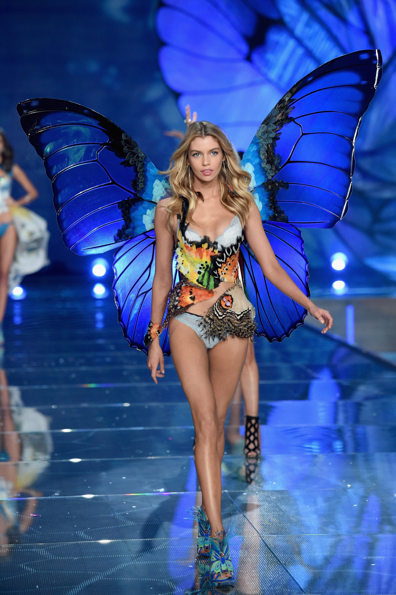 Model and New Angel Stella Maxwell from UK
