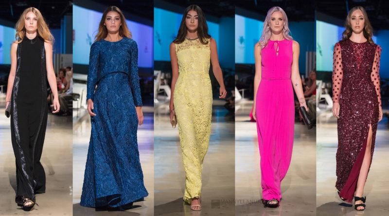 Escada runway fashion show la Fashion week lafw
