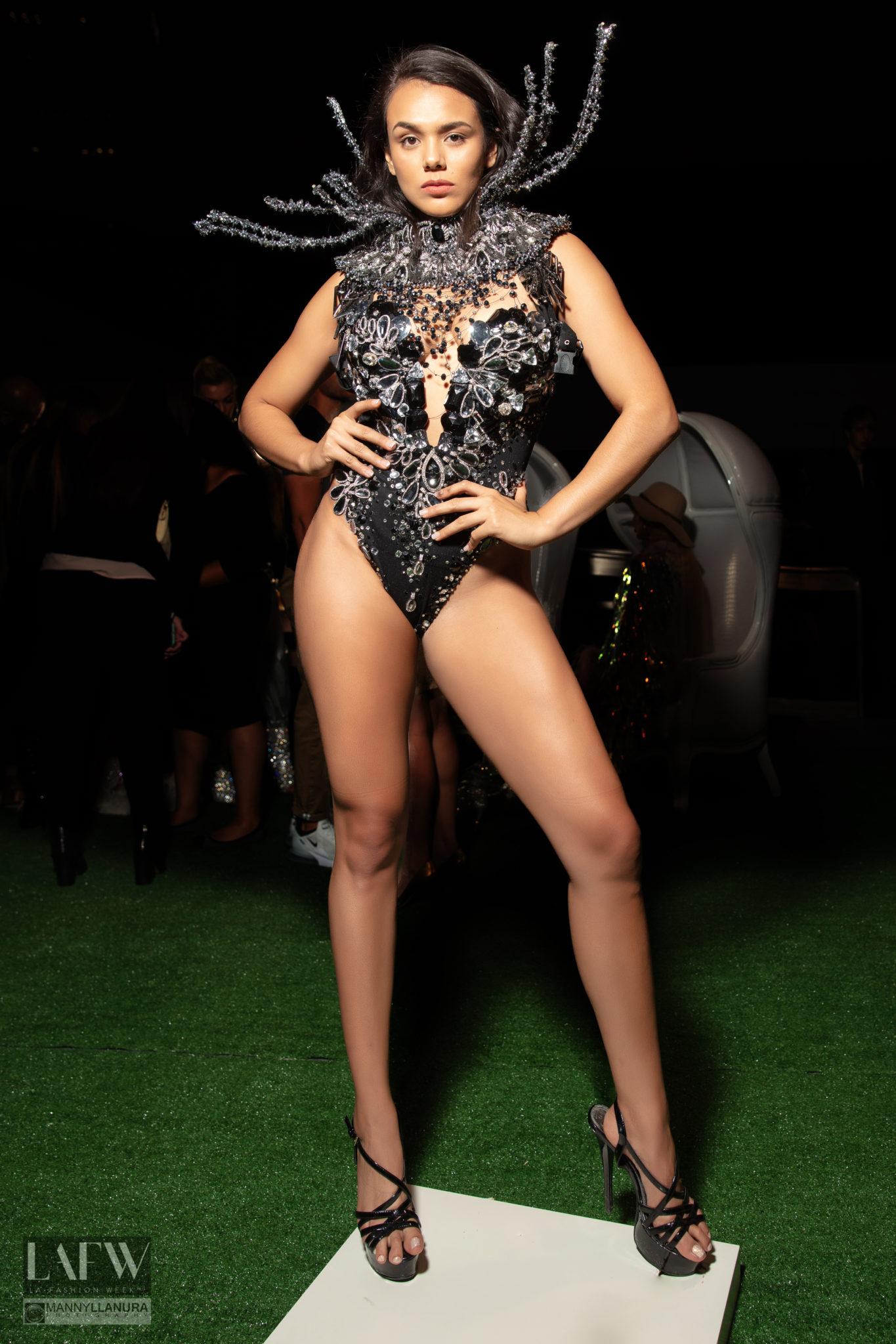 LAFW LA Fashion Week SS19 Rocky Gathercole