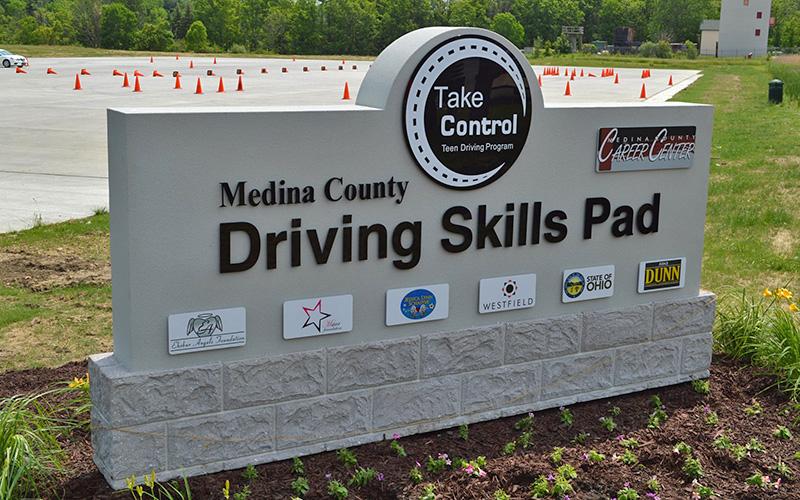 MCCC Hosts Driving Skills Pad on Campus