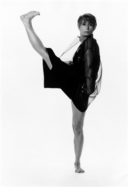 Twyla Tharp Dance. Image courtesy of Newman Center Presents.