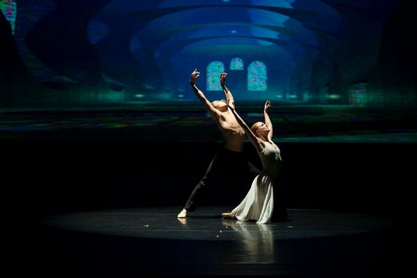 Photo by Peter Strand. Image courtesy of Zikr Dance Ensemble.