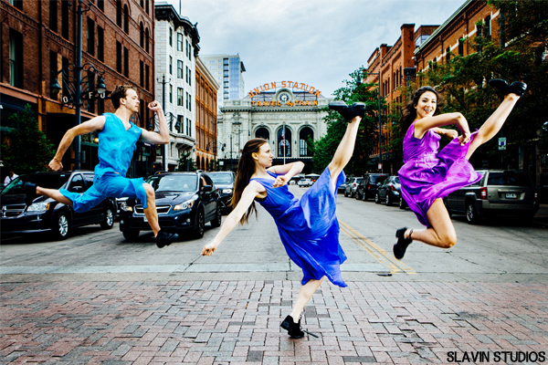 Photo by Slavin Studio. Image courtesy of Hannah Kahn Dance Company.