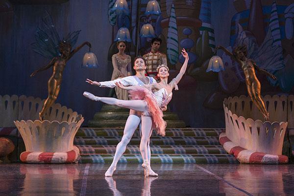 The Nutcracker. Sharon Wehner and Yosvani Ramos. Photo by Mike Watson. Image courtesy of Colorado Ballet.