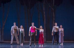 Colorado Ballet. Artists of Colorado Ballet by Mike Watson. Pillar of Fire choreography by Antony Tudor. Courtesy of Colorado Ballet.