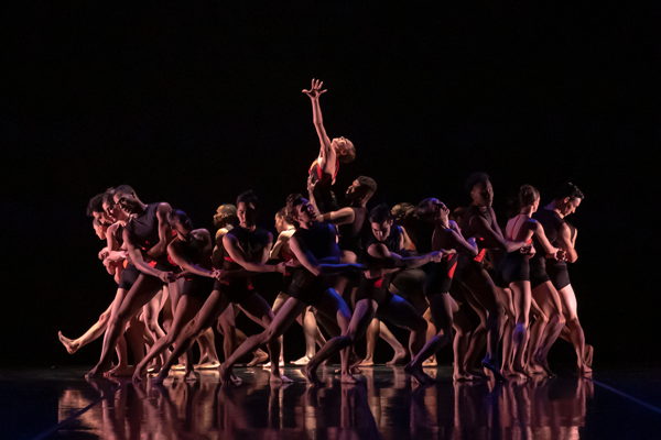 Artists of Colorado Ballet and Cleo Parker Robinson Dance by Mike Watson. Courtesy of Colorado Ballet.