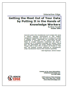getting the most out of your data whitepaper