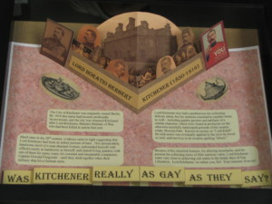 Pop Up Display on Lord Kitchener