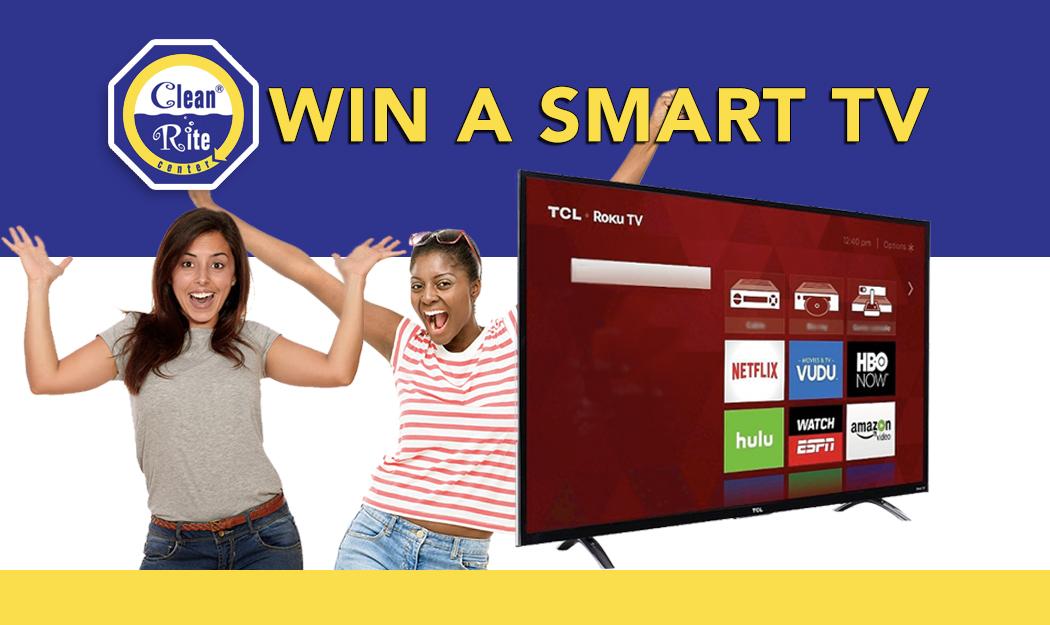 Smart TV Raffle - Clean Rite Center