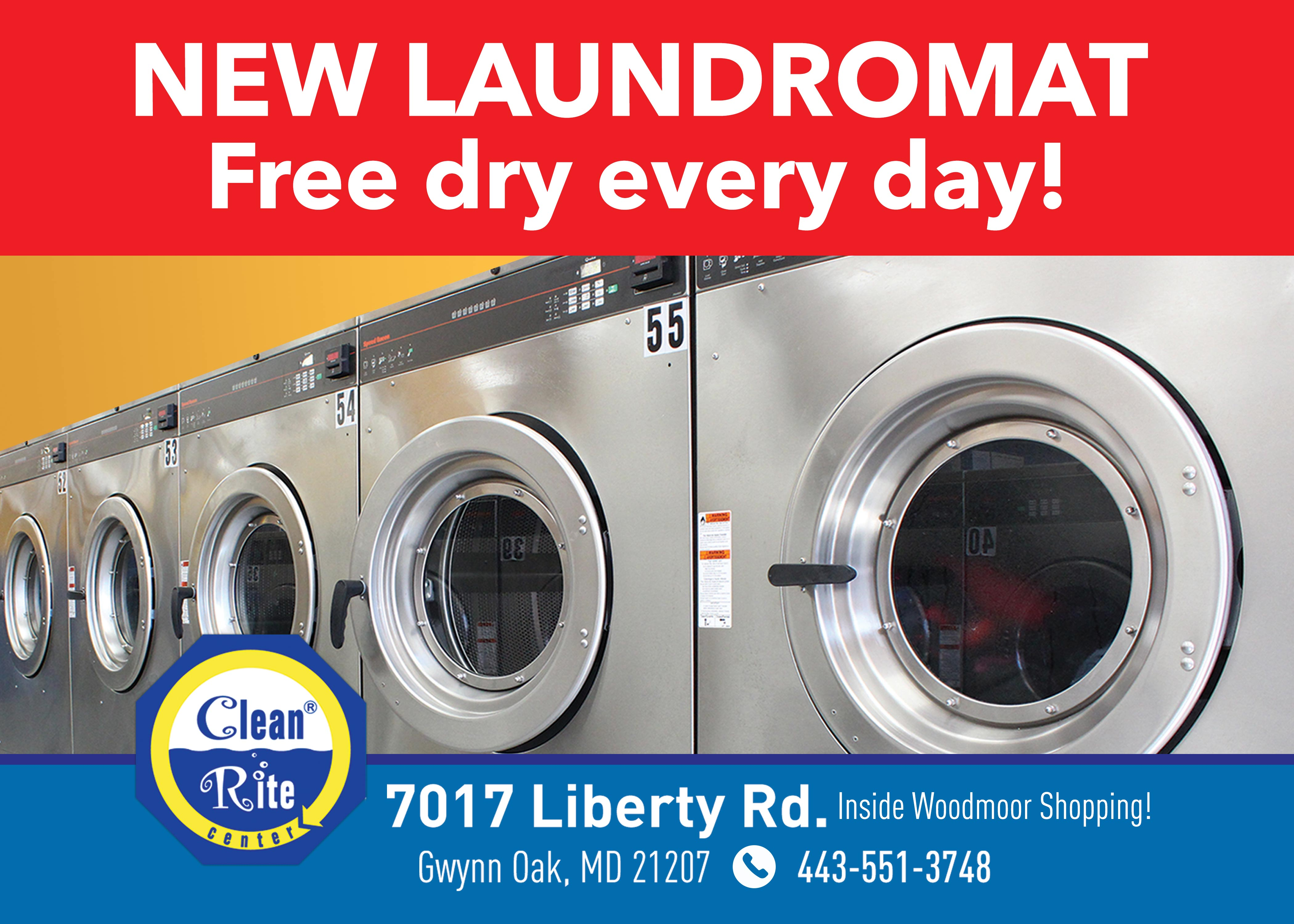 Brand New Laundromat In Gwynn Oak