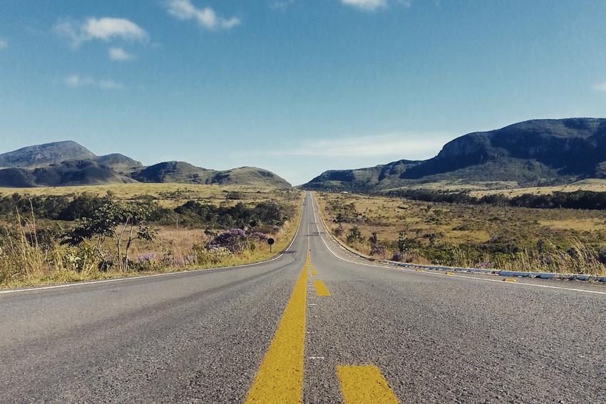 Estrada de Alto Paraíso de Goiás