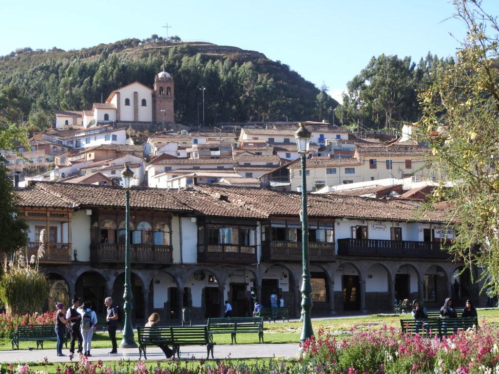 Plaza...Cusco, Peru