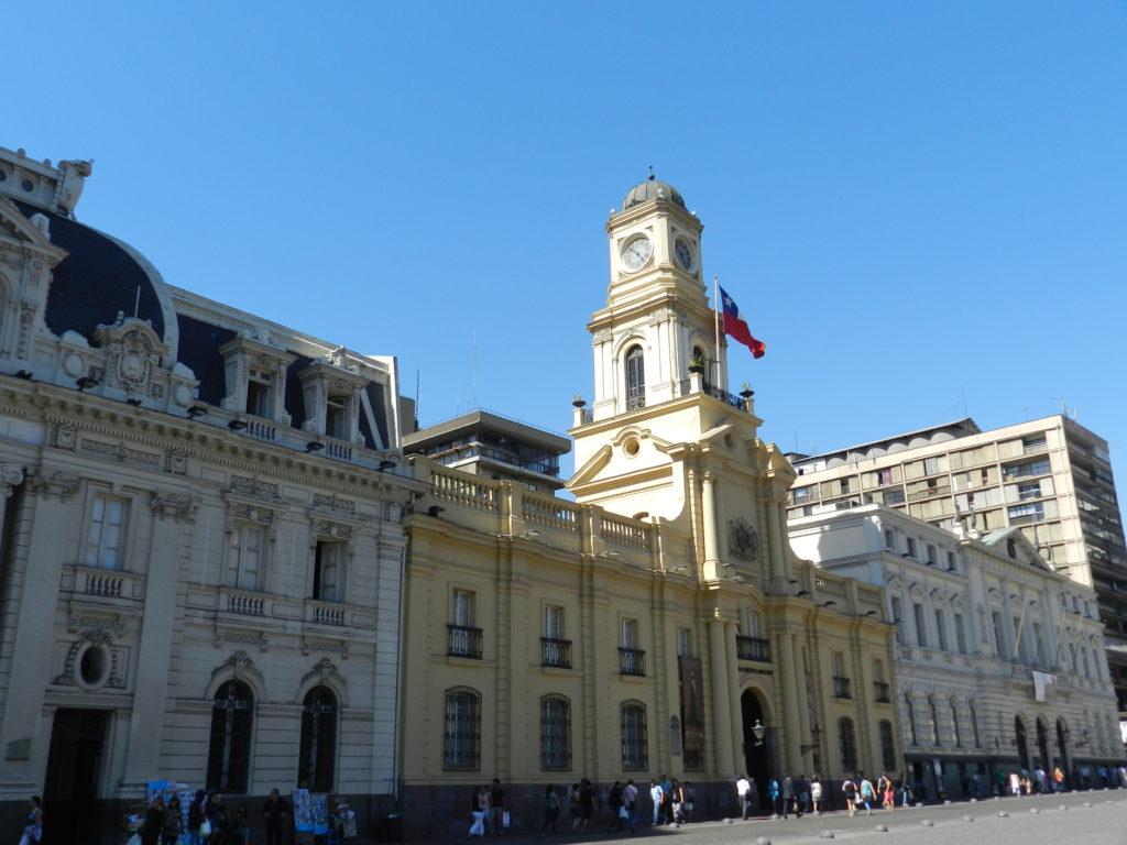 Centro histórico, Santigo de Chile