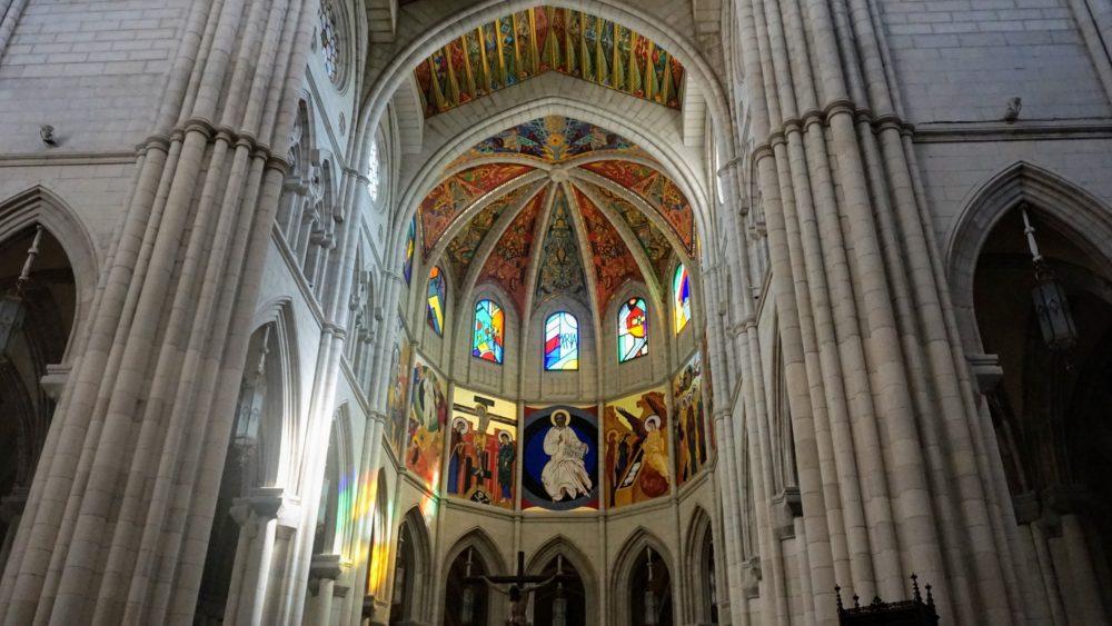 Vista para a Catedral de Madri - Catedral de Almudena