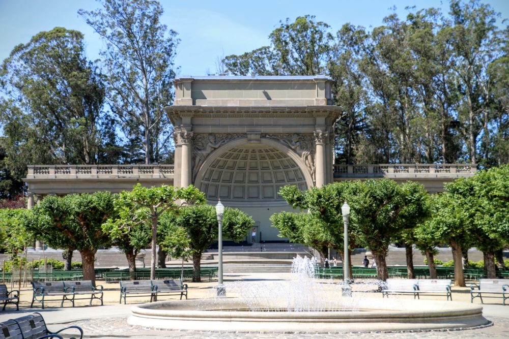 Spreckels Temple of Music - São Francisco