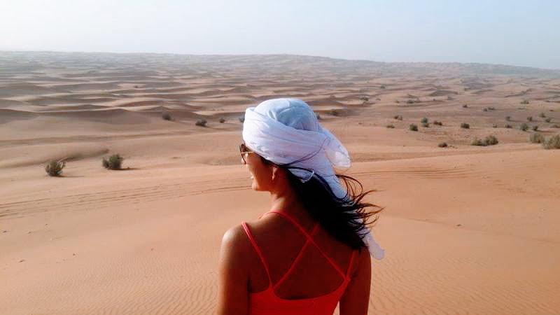 Morando em Dubai e desfrutando das belezas do Deserto