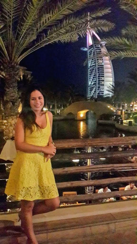 Morando em Dubai e desfrutando das belezas da cidade