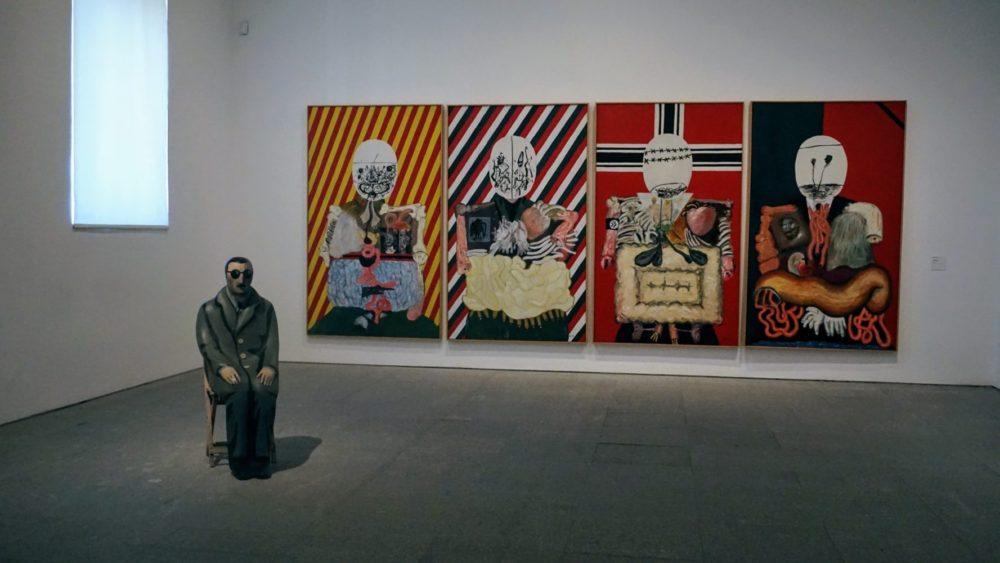 Obra de arte do Museu Reina Sofia - Madri