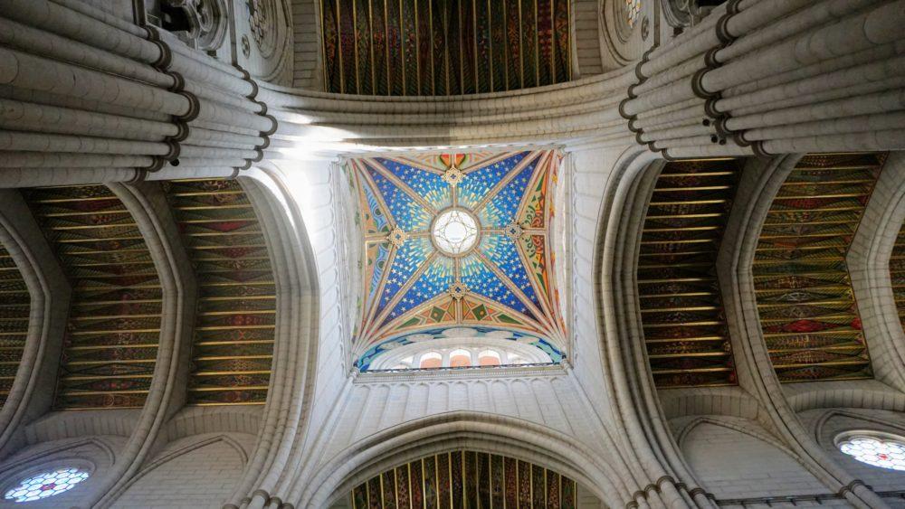 Teto da Catedral de Madri - Catedral de Almudena