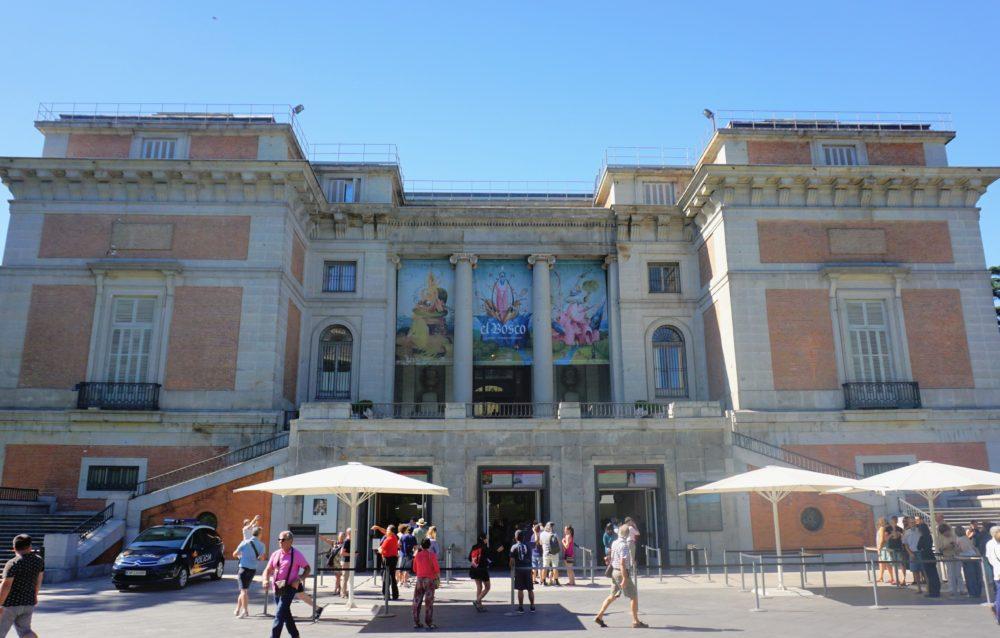 Fachada do Museu do Prado - Madri