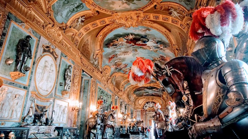 O que fazer em Turim - Visitar a sala de armeria do Palácio Real de Turim