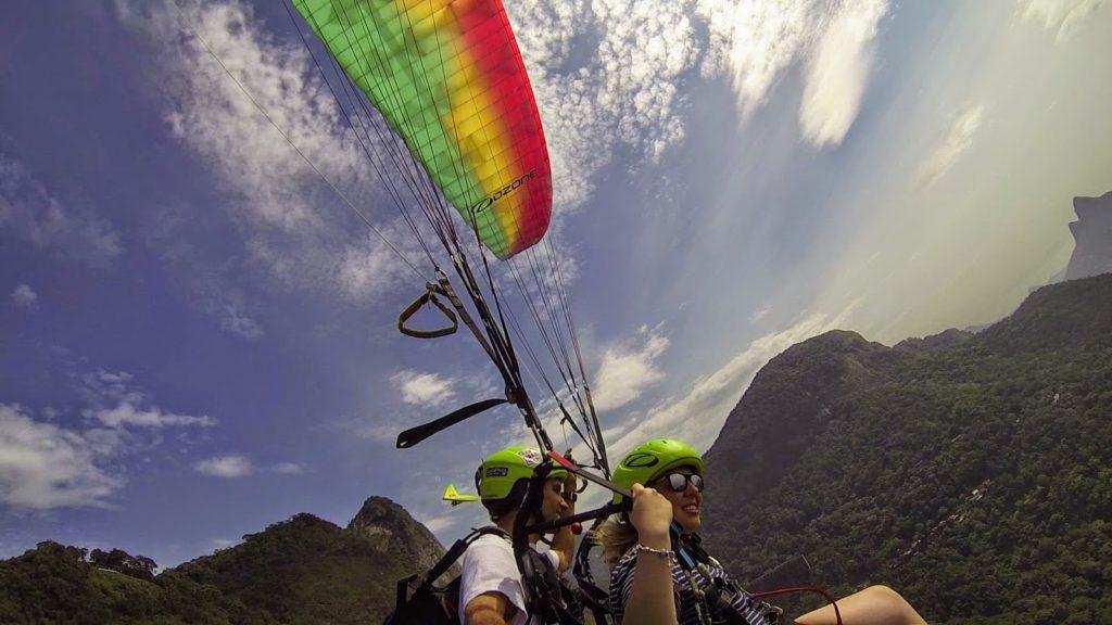 30 coisas antes dos 30 - Saltei de Paraglider no Rio de Janeiro