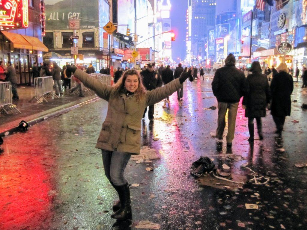 30 coisas antes dos 30 - Passar Ano Novo em Nova York