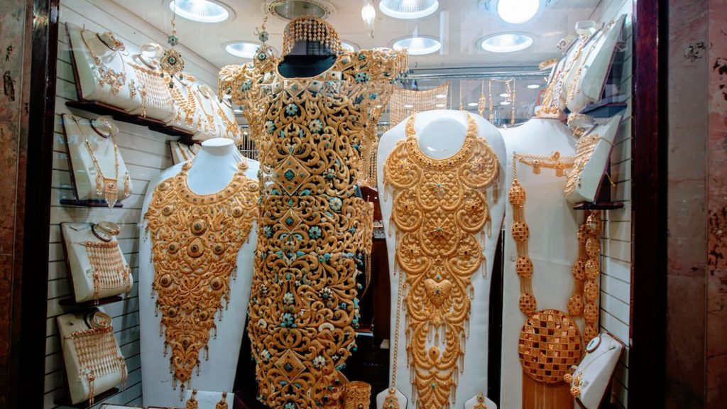 Mercados de Dubai: o amarelado ouro das arábias.