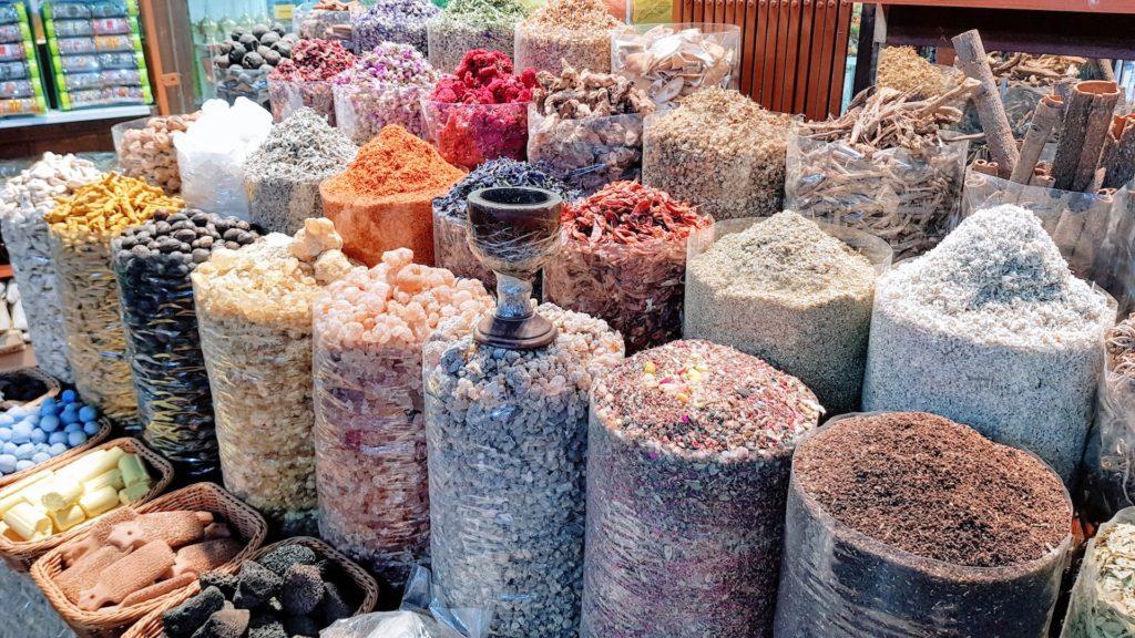 Mercados de Dubai: o aromático mercado de especiarias