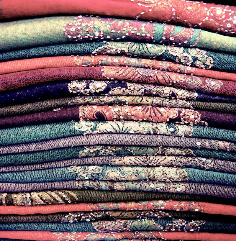 Mercados de Dubai: uma variedade de mercado de tecidos