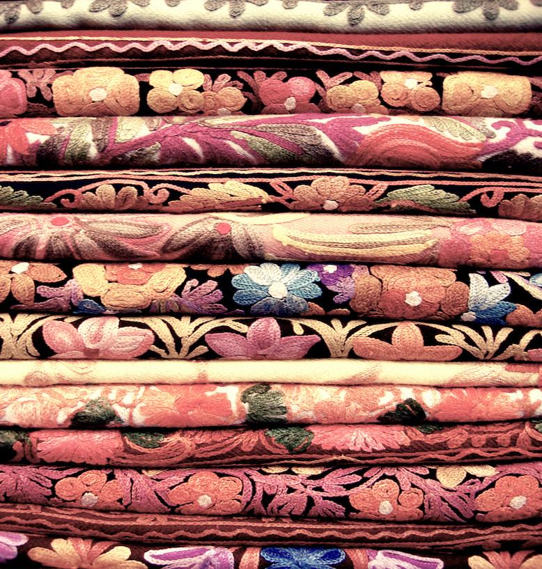 Mercados de Dubai: Mercado de tecidos
