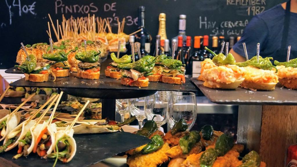 Onde comer em San Sebastián - Provar os pintxos da cidade