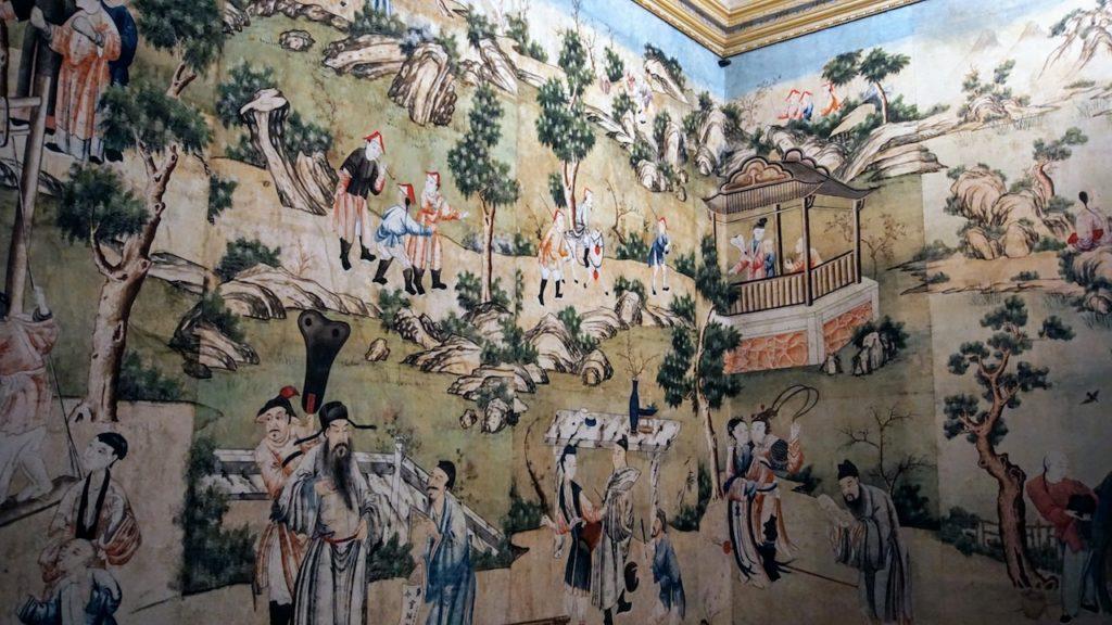 Palácio-de-Caça-Sala Joponesa
