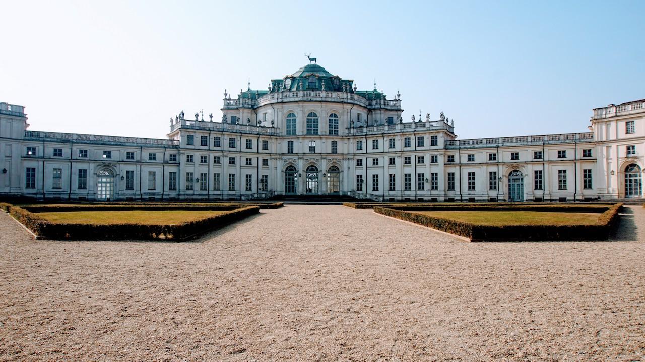 Palácio de Caça de Stupinigi - Entrada