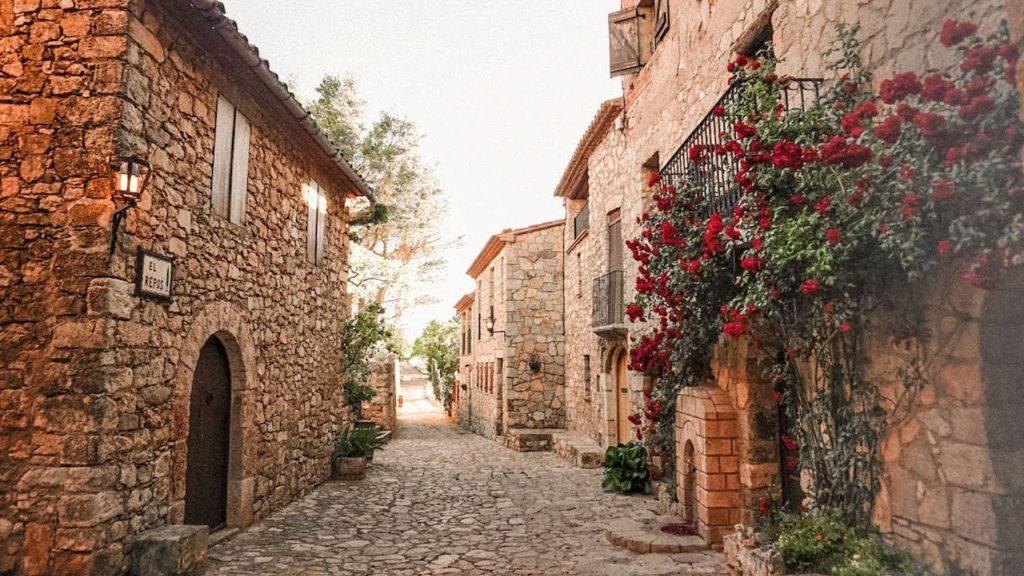 Vila de Siurana na Catalunha Espanha